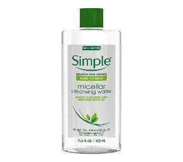 Simple  Micellar Cleansing Water -400ml-France