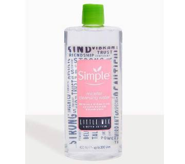 SIMPLE  X LITTLE MIX MICELLAR FACE CLEANSER  (400ML)-France