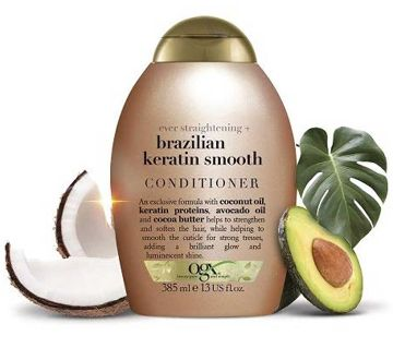 Ogx Conditioner Brazilian Keratin Therapy 13 Ounce-USA