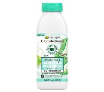 Garnier Ultimate Blends Moisturizing Hair Food Aloe Vera & Coconut Conditioner 350ml-Italy
