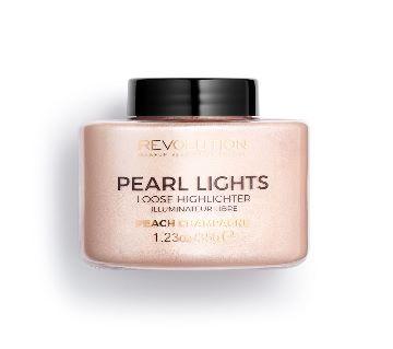 Makeup Revolution  Pearl Lights Loose Highlighter 35g  Peach Champagne-UK