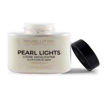Makeup Revolution  Pearl Lights Loose Highlighter 35g  True Gold-UK