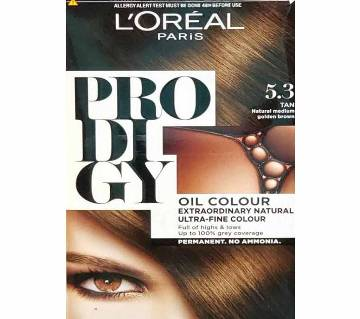 LOreal Paris Hair Color 5.3 Tan Natural Medium Golden Brown-322g-France