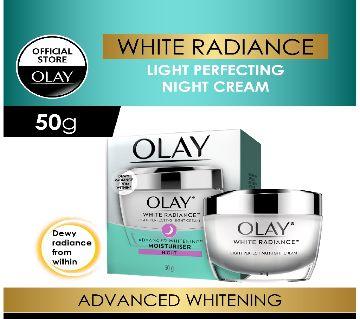 Olay white radiance advanced light perfecting night cream 50g-USA