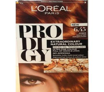Loreal Paris Hair Color 4.5 Amber Tan Natural Light Mahogany Brown-322g-France