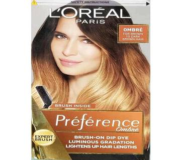 Loreal Paris Hair Color Ombre For Brown To Dark Brown Hair-322g-France