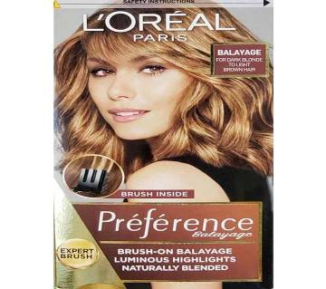 Loreal Paris Hair Color Balayage For Dark Blonde To Light Brown Hair -322g-France