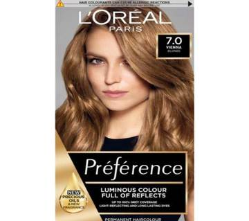 LOreal Paris Hair Color 7.0 Vienna Blonde-322g-France