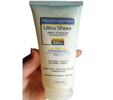 Neutrogena ultra sheer Dry touch Sunblock SPF 50+ 118 ml-USA