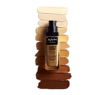 Original NYX  Cant Stop Wont Stop Full Coverage  Foundation-USA-0.8 Oz
