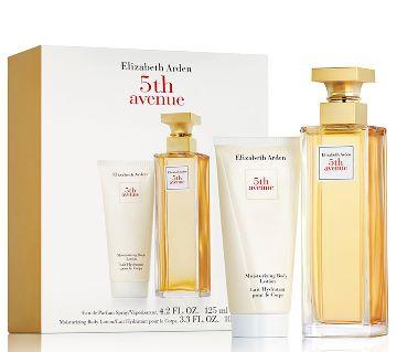 Elizabeth Arden 5th Avenue Gift Set 125 ml Eau de spray and 100 ml body lotion-UK Combo offer