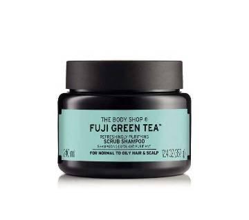 The Body Shop  Fuji Green Tea Refreshingly Purifying Cleansing Hair Scrub 240 ml-UK