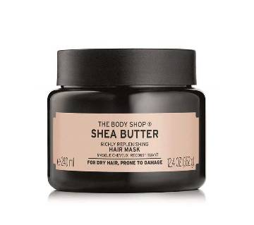 The Body Shop  Shea Butter Richly Replenishing Hair Mask  240 ml-UK