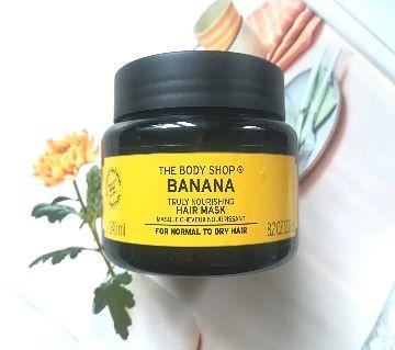 The Body Shop Banana Truly Nourishing Hair Mask 240 ml-UK
