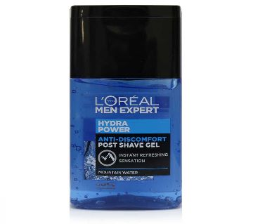 LOreal  Men Expert Hydra Power Refreshing Post Shave Gel  125ml-France