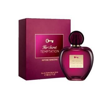 Antonio Banderas Her secret temptation Eau de toilette for women 80ml-UAE