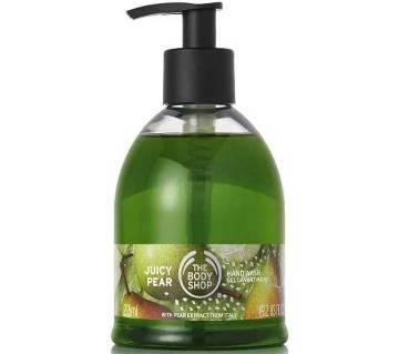 Original The Body Shop Juicy Pear Hand Wash Gel 275ml-UK