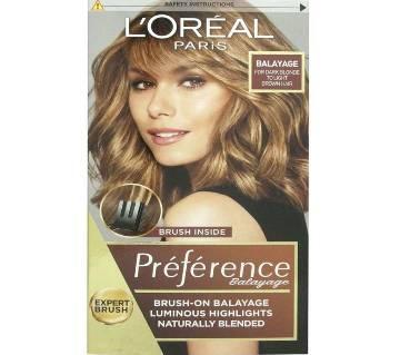 Original LOreal paris Balayage For Dark Blonde to Light Brown Hair-8.22oz-France
