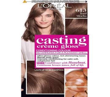 LOreal paris 613 lced Mocha casting creme gloss conditioning colour-8.22oz-France