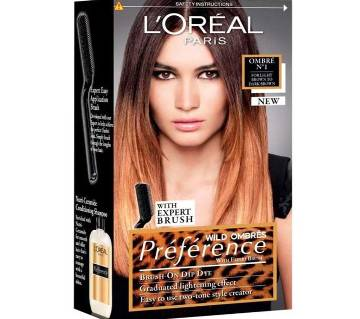 LOreal paris Wild Ombres Preference hair color-8.22oz-France