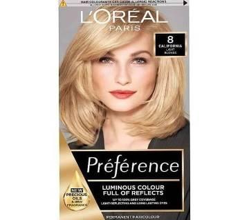 LOreal paris 8 california Light Blonde color- 8.22 Oz-France