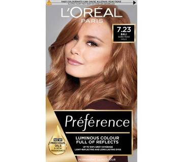 LOreal paris 7.23 Rose Gold preference luminous colour full of reflects- 8.22 Oz-France