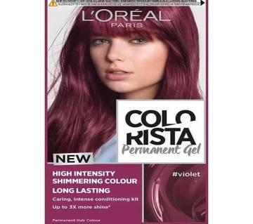 LOreal paris Colorista Permanent gel violet- 8.22 Oz-France