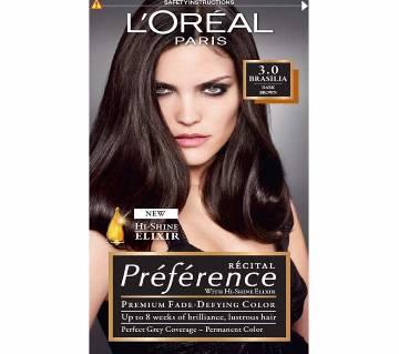 LOreal paris 3.0 Brasilia Dark brown color-8.22 Oz-France