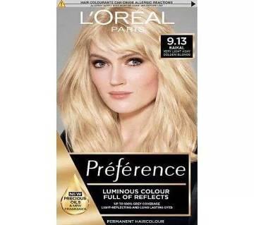 LOreal paris 9.13 Baikal very light ash golden blonde-8.22 Oz-France