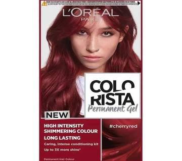 LOreal paris Colorista Permanent gel  cherry red-8.22 Oz-France