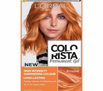LOreal paris Colorista Permanent gel  copper-8.22 Oz-France