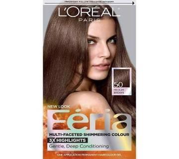 LOreal Paris Feria Multi-Faceted Shimmering Permanent Hair Color-8.22 Oz-France