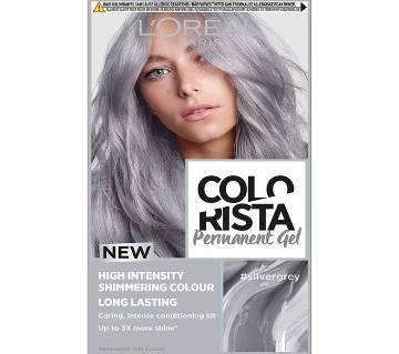 LOreal paris Colorista Permanent gel silver grey-8.22 Oz-France