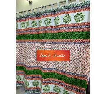 Cotton Curtains  Green