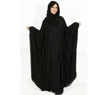 Georgette Abaya For Women 2020 Black