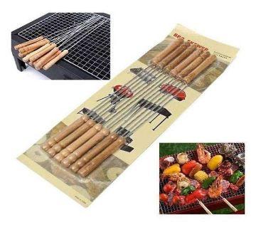 12 Pieces BBQ Grill Sticks Set