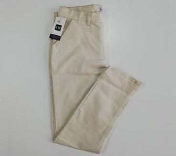 GAP Cream Stretch Chinos - CAP copy