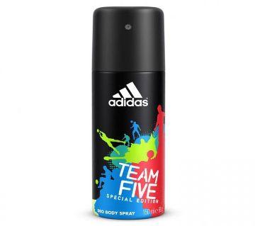 Adidas  Team Five Ltd Edition M-Deo Spray 150ml -spain  1947  PBL