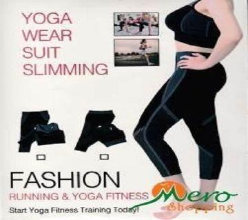 Womens Yoga Wear Suit Slimming