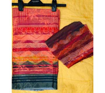 Ferdous Unstitched Lawn 2Pcs