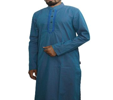 Indian cotton fabric semi long punjabi