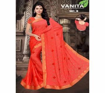 Indian sharee Vanita  (Vanita - foil weightless fabrics)  with blouse piece
