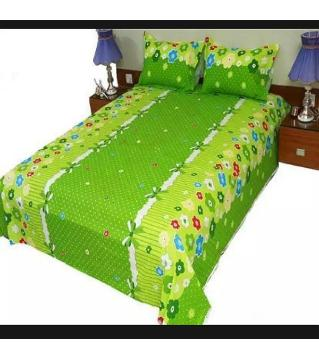 king size double bed Sheets bed Sheets 41-green