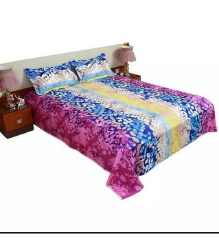 king size double bed Sheets 130 -pink