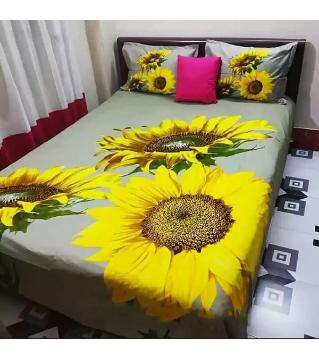 bed Sheets king size 93-yellow