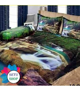 king size bedsheet and cover 3D shower print