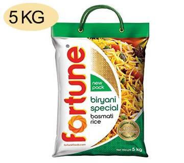Fortune biryani basmati rice - 5 KG Sachet