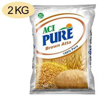 ACI Pure Brown Atta - 2 kg