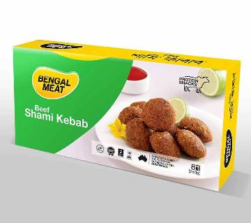 Bengal Meat Beef Shami Kabab  - 280 gm (Protein Snacks - Ready To Cook)