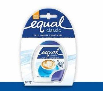 Merisant Equal Aspartame Tablet 100s